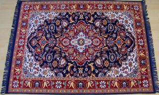 India Area Rugs From Wool Blend