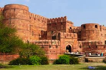 agra fort, india tourism destinations, travel to india