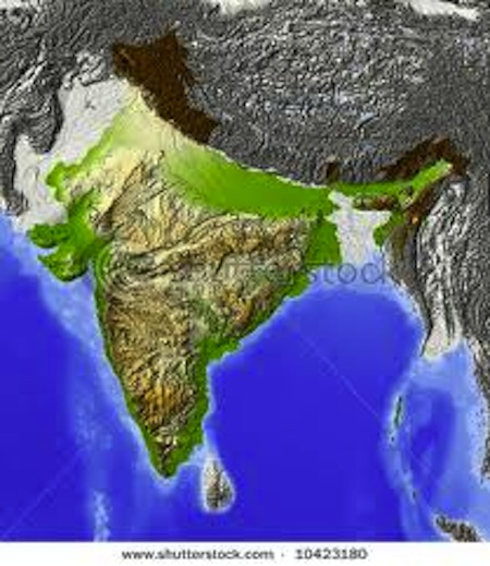 india geography, geography of india, physical map of india