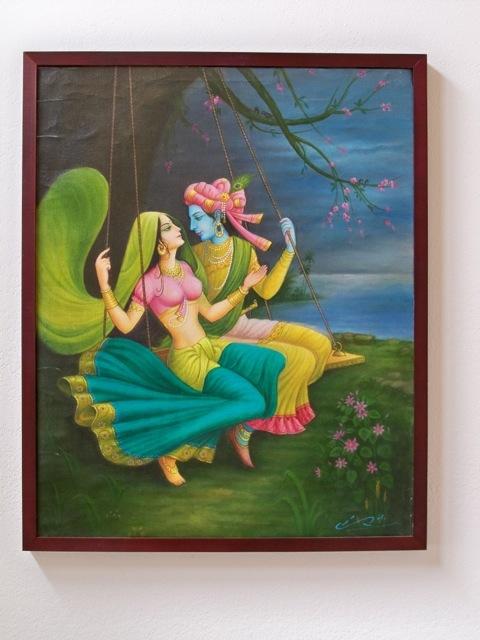 india art paintings, india art, hinduism, krishna