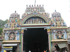 Sri Meenakshi temple, destination
