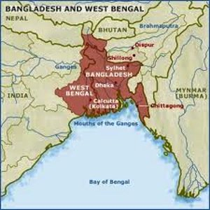 west bengal, india states, india geography, physical map of india